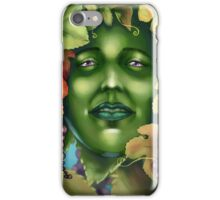 The Greenwoman iPhone Case/Skin