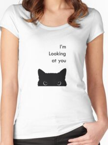 I'm Looking at you Women's Fitted Scoop T-Shirt