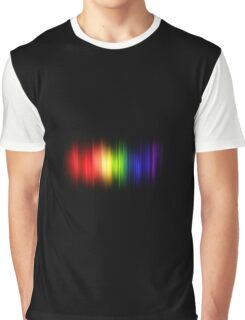 Feel The Colors Of The Rainbow Graphic T-Shirt