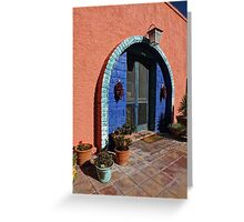 The Entrance Greeting Card