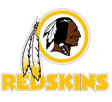 REDSKINS LOGO Photographic Print