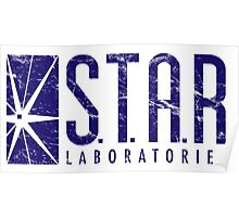 Star Labs Blue Poster