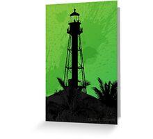 Sanibel Lighthouse 2011 Greeting Card