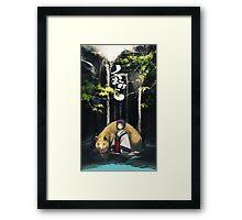 Original Kuma Miko  Framed Print