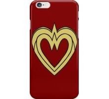 Heart of a Warrior  iPhone Case/Skin