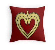 Heart of a Warrior  Throw Pillow