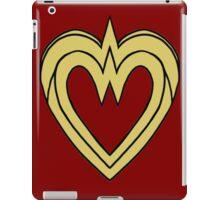 Heart of a Warrior  iPad Case/Skin