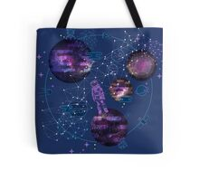 Astronaut Lost in Space Tote Bag