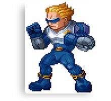 Captain Commando Canvas Print