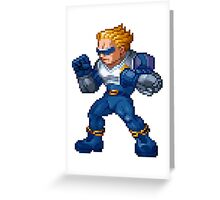 Captain Commando Greeting Card