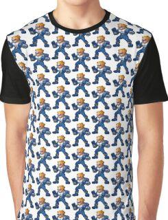 Captain Commando Graphic T-Shirt