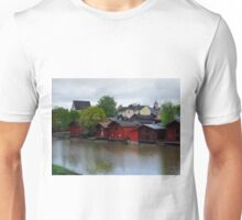 The Red Buildings Unisex T-Shirt