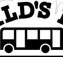 World's best bus driver Sticker