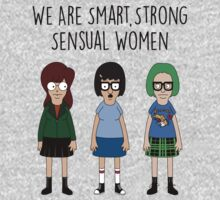 We Are Smart, Strong, Sensual Women One Piece - Short Sleeve