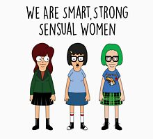 We Are Smart, Strong, Sensual Women Womens Fitted T-Shirt