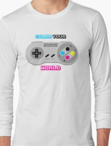 Color Your World Long Sleeve T-Shirt