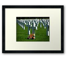 """We Will Always Remember ~ """"The Spirit of American Youth Rising from the Waves"""" Framed Print"""