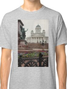 Light Mist on The Senate Square Classic T-Shirt
