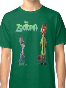 Zootopia Nick & Judy Classic T-Shirt