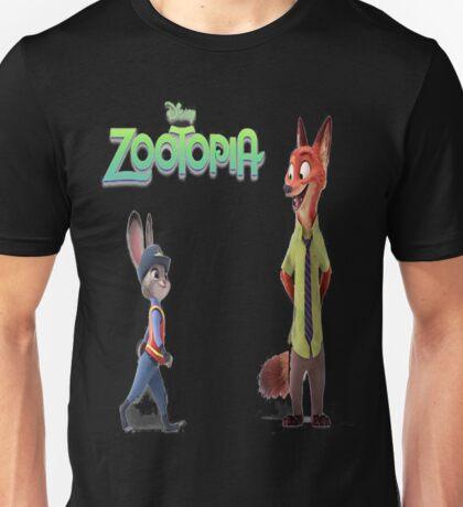 Zootopia Nick & Judy Unisex T-Shirt