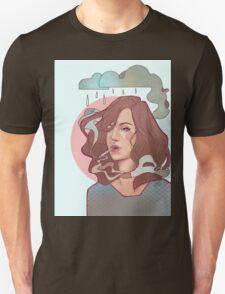 Trippin' on skies Unisex T-Shirt