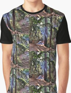 Light Through the Trees Graphic T-Shirt
