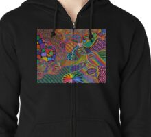 Heart Strings Zipped Hoodie