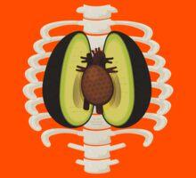 Avocado Anatomy Kids Tee