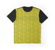 Yellow Seikaiha Graphic T-Shirt