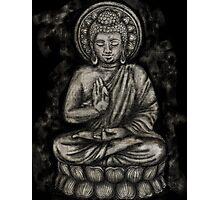 Zen Silver, Buddha 1 Photographic Print