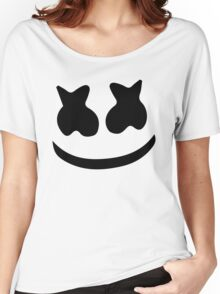 Marshmello Face Women's Relaxed Fit T-Shirt