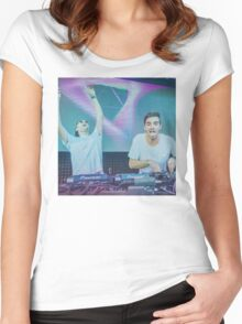 Drew and Alex  Women's Fitted Scoop T-Shirt