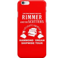 Rimmer and The Scutters iPhone Case/Skin