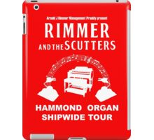 Rimmer and The Scutters iPad Case/Skin