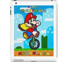 Mario Uni (MKE Edition) iPad Case/Skin