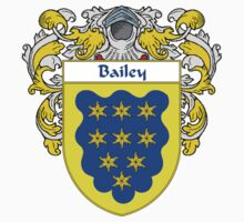 Bailey Coat of Arms/Family Crest One Piece - Short Sleeve