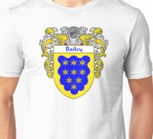 Bailey Coat of Arms/Family Crest Unisex T-Shirt