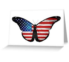 Patriot Butterfly Merchandise Greeting Card