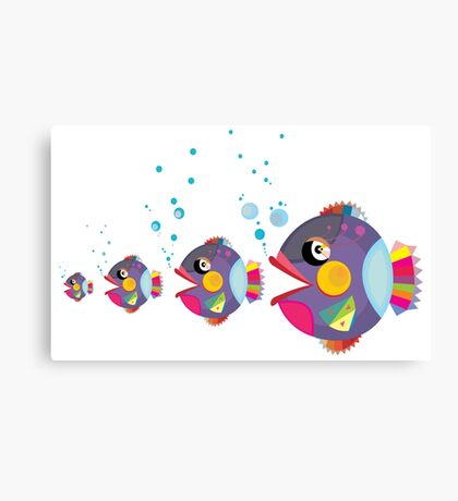 Cat fish Canvas Print