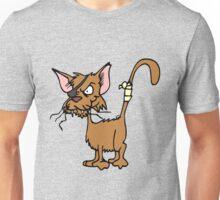 Fighting cat clip art cat Unisex T-Shirt