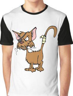 Fighting cat clip art cat Graphic T-Shirt