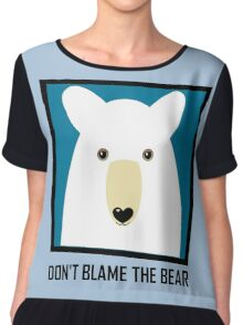DON'T BLAME THE POLAR BEAR Chiffon Top