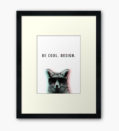Sly Design Framed Print