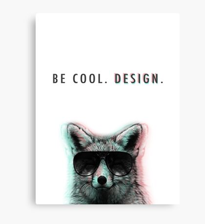 Sly Design Canvas Print