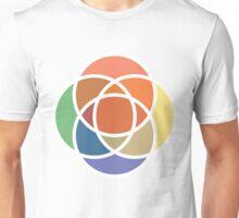 Color Overlap Unisex T-Shirt