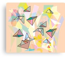 shapes Canvas Print