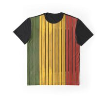 Rasta Panels Graphic T-Shirt