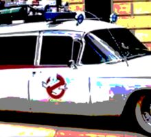Ghostbusters - Ecto-1 Sticker