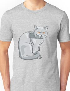 Wild cat art Unisex T-Shirt