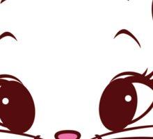 Lovely cat design Sticker